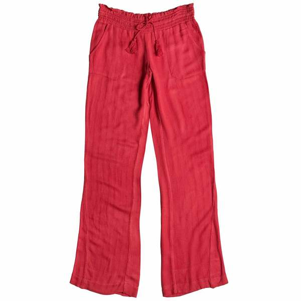 Women's-Roxy Women's Oceanside Pants Hibiscus
