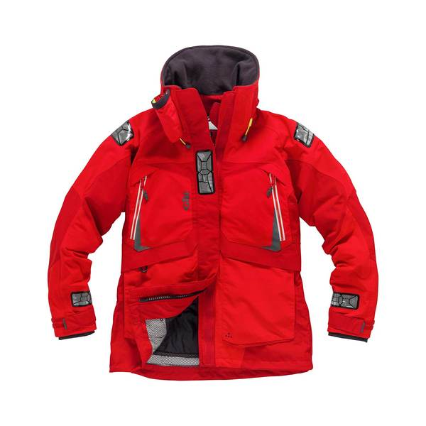 Gill Women's OS23 Coastal Sailing Jacket Red