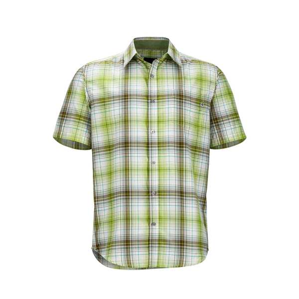 Click here for Marmot Mens Notus Shirt Green - Size - Medium prices