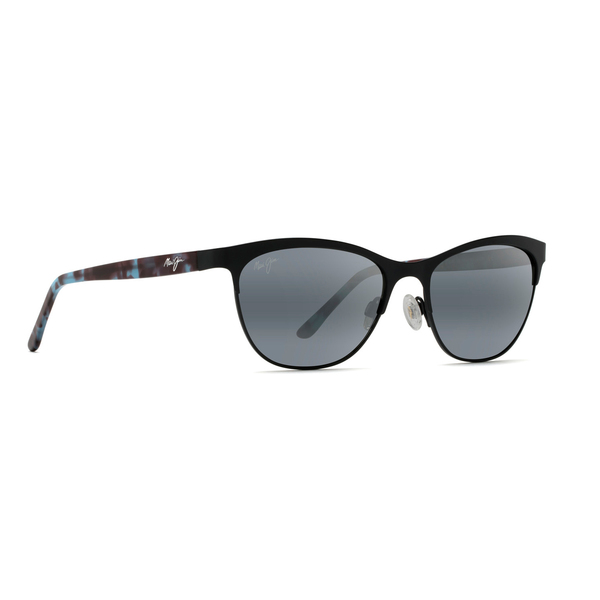 Click here for Maui Jim Womens Popoki Polarized Sunglasses Black prices