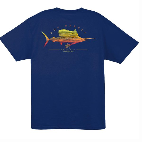 Men's Sailfish Scribble Shirt