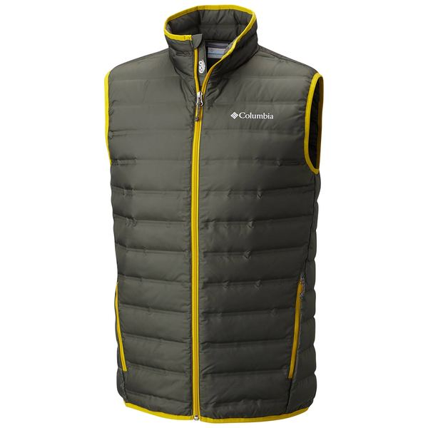 Click here for Columbia Mens Lake 22 Down Vest Gray - Size - Larg... prices