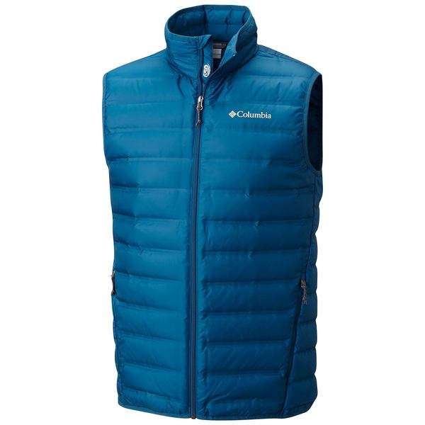 Click here for Columbia Mens Lake 22 Down Vest Blue - Size - Larg... prices