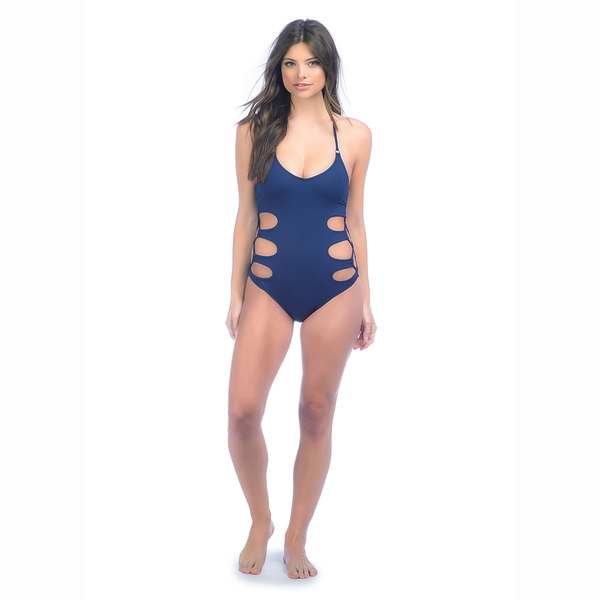 Click here for Sperry Womens Solid One Piece Swimsuit Indigo prices