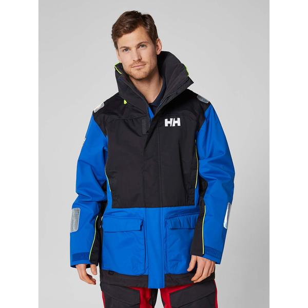 Helly Hansen Men's Newport Coastal Sailing Jacket Blue - Size - Large