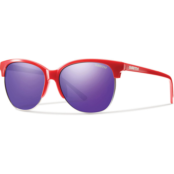 Click here for Smith Optics Womens Rebel Sunglasses Red Frame/pur... prices