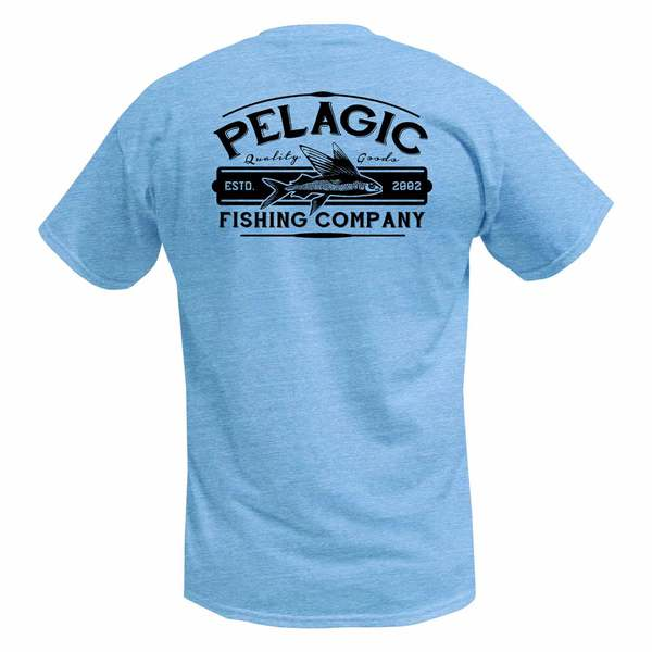 Pelagic men 39 s fish co shirt west marine for West marine fishing shirts