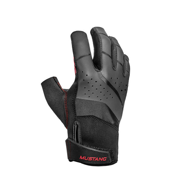 Mustang Survival Traction Short Finger Sailing Gloves