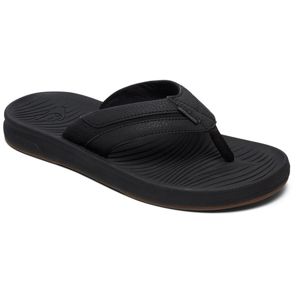 0d104aea953be4 QUIKSILVER Men s Travel Oasis Flip-Flop Sandals