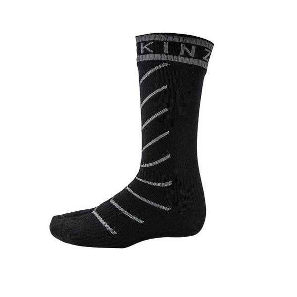 Men's Super Thin Pro Waterproof Crew Socks with Hydrostop