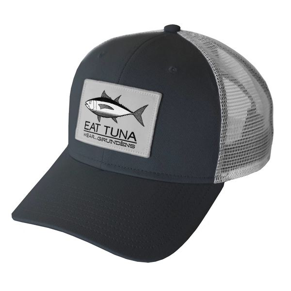 4b6e1e915e1 GRUNDENS Men s Eat Tuna Trucker Hat