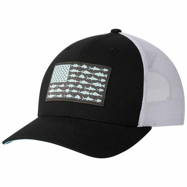 Men's PFG Mesh Snap Back™ Fish Flag Ball Cap