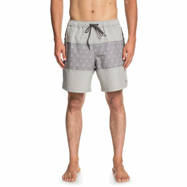 Men's Manoa Rain Triblock Swim Trunks