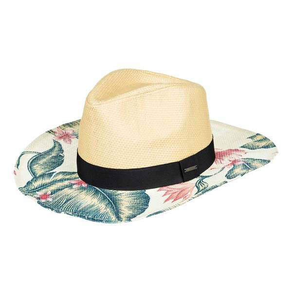 ROXY Women s Look For Rainbows Straw Cowboy Hat  08bb9421d79