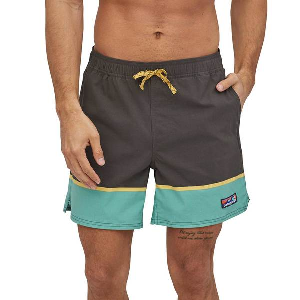 Men's Scallop Hem Stretch Wavefarer Swim Trunks
