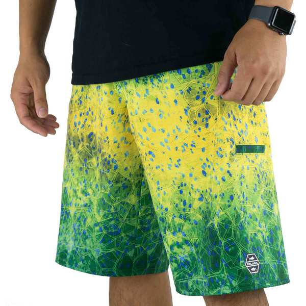 Men's Hydro-Lite Dorado Hex Board Shorts