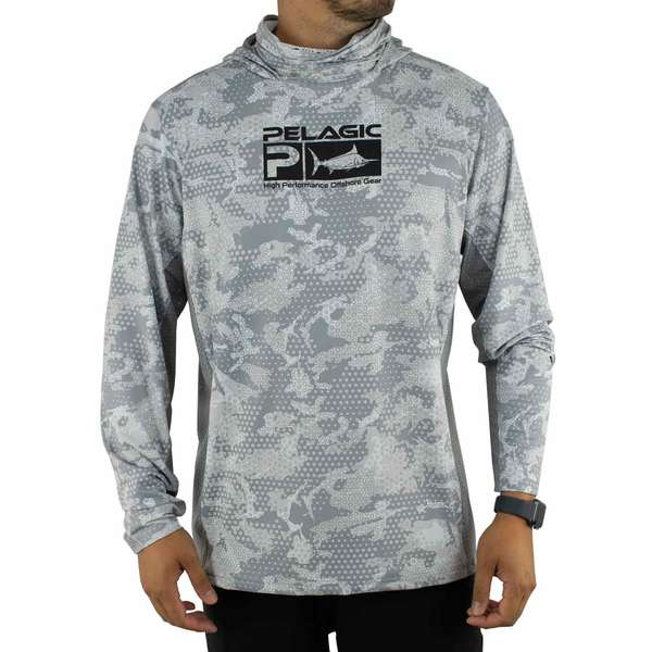 Men's Exo-Tech Hooded Shirt Ambush Print