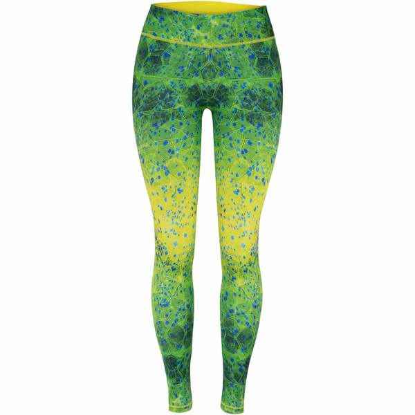 Women's Maui Hex Dorado Swim Leggings