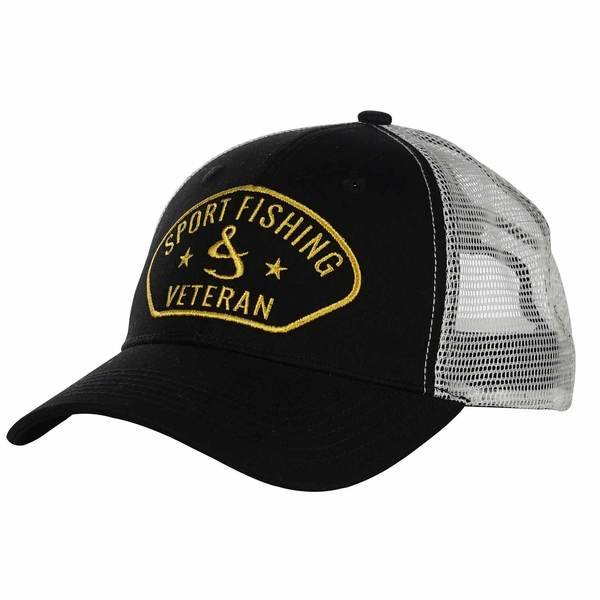 Sport Fishing Veteran Fishing Trucker Hat