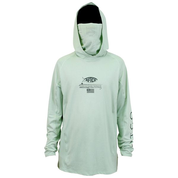 Men's Barracuda Hooded Geo Cool Shirt