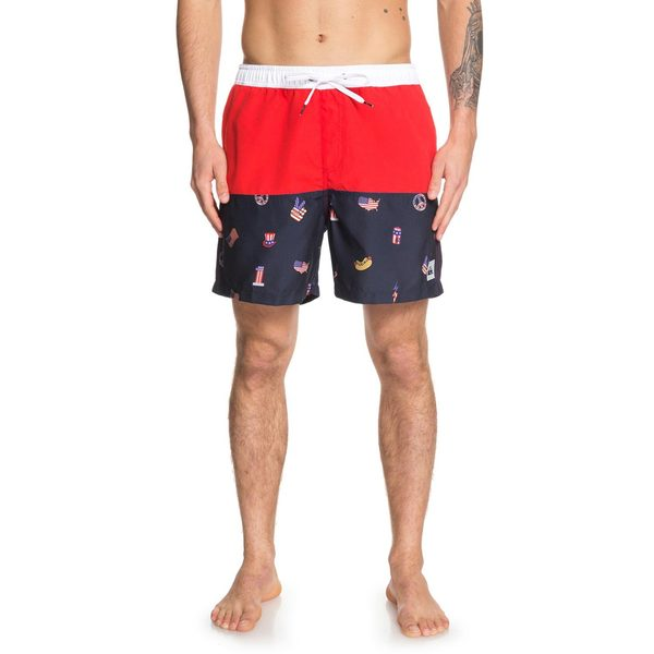 Men's Hot Dog Swim Trunks