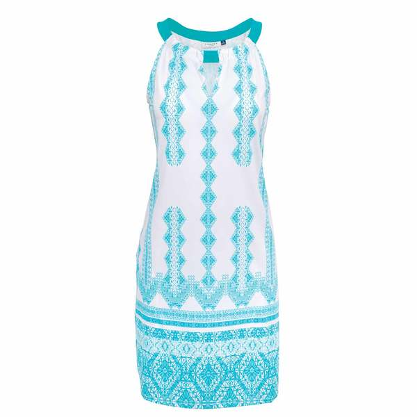 Women's Crystal Lagoon Sleeveless Shift Dress
