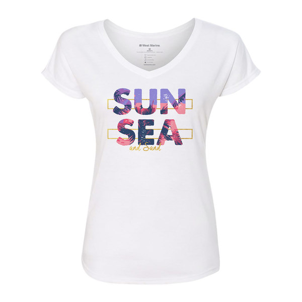 Women's Sun Sea and Sand Shirt