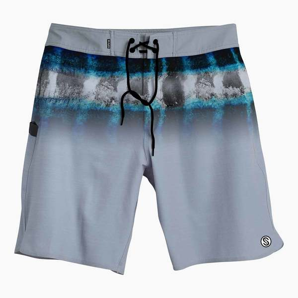 Men's First Mates Hoo Stripes Board Shorts