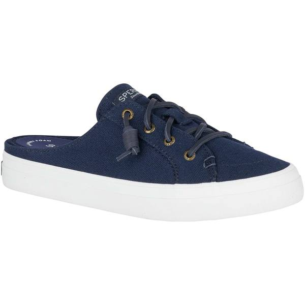 Women's Crest Vibe Mule Canvas Sneakers