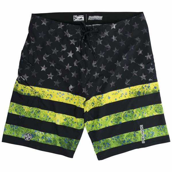 Men's Sharkskin Americamo Board Shorts