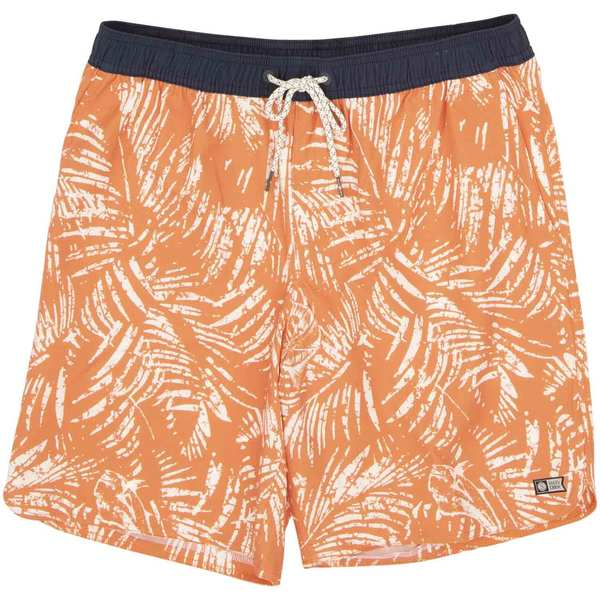Men's Weathered Elastic Board Shorts