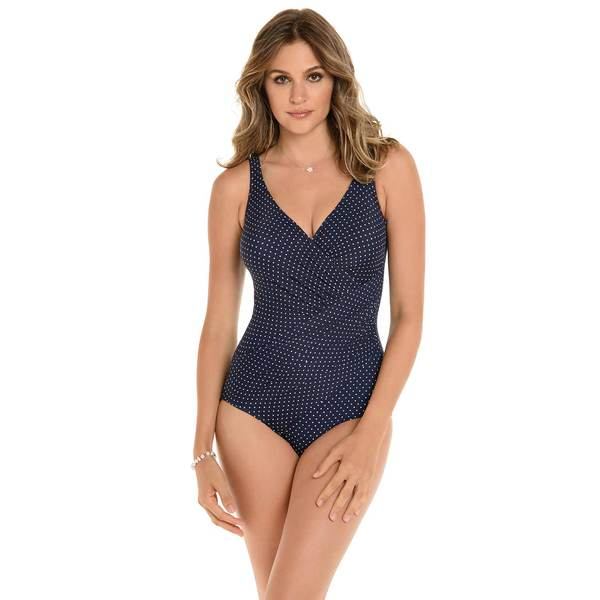 Women's Pin Point One-Piece Swimsuit