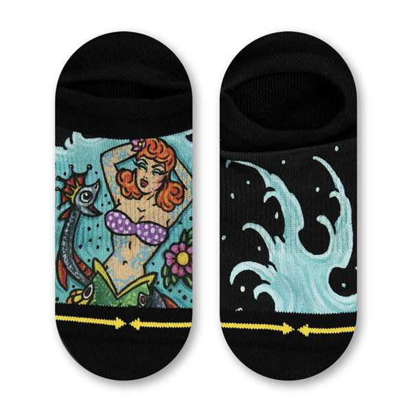 Dirk Vermin Mermaid No Show Socks