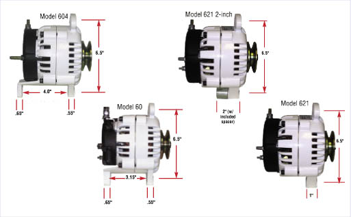 Alternators on Ford One Wire Alternator Wiring Diagram