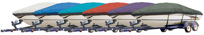 different boat cover colors