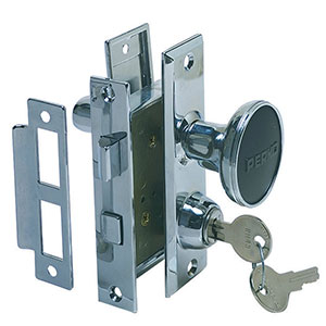 Mortise latch set