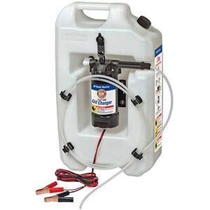 West Marine electric flat tank oil changer