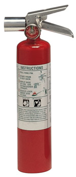 Halotron 1 fire extinguisher