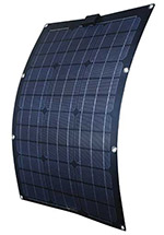 Nature Power semi flexible 50W solar panel
