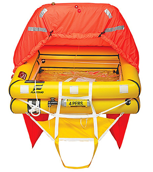 Choosing a Life Raft for Offshore Fishing or Sailing Boat