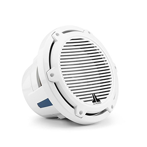 White JL Audio subwoofer