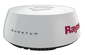 Raymarine quantum CHIRP pulse compression radome