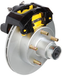 Eliminator Disc Brakes Have Vented Rotors And Fit Trailers With 13 14 Or 15 Wheels