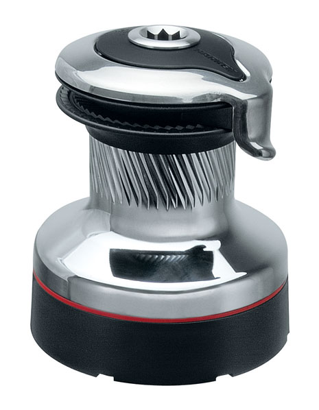 Harken #40 Radial self-tailing chrome two-speed winch