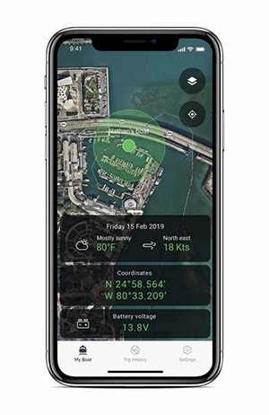 boat connect app screenshot