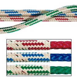 Samson Rope Warpspeed Dyneema Double Braid 1/4'' Braid 5 1000 Breaking Strength Blue, Dyneema & Spectra Lines for Boats & Yachts