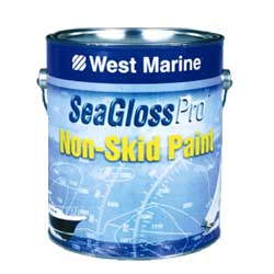 West Marine Sea Gloss Pro Nonskid Paint Off White Quart, Specialty & Nonskid Paints for Boats & Yachts