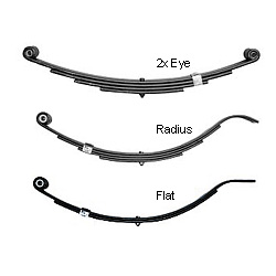 Tie Down Engineering Replacement Trailer Springs 2500 Lb Double Eye End, Trailer Brakes & Axles for Boats & Yachts