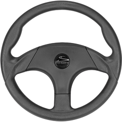 Schmitt Marine Steering Hardgrip Steering Wheel, Steering Wheels & Accessories for Boats & Yachts