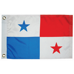 Taylor Made Panama Courtesy Flag 24'' X 36'', Marine Foreign Courtesy Flags